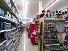 A path to Sporting Goods. (Timothy Pitonyak) Tags: kmart trenton newjersey christmas retail hardlines merchandise sports