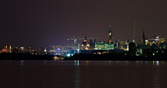 Ottawa at Night (CdnAvSpotter) Tags: nightphotography long exposure ottawa river city parliament bate island canon
