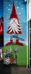 Scandinavian (Dennis Valente) Tags: 5dsr usa muralist building art contemporaryurbanart 2016 seattle paint painter ballard henry artist 32bit ryanhenryward streetart pnw washington wall mural isobracketing hdr