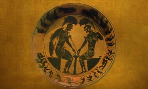 "Petteia - Ludus Latrunculorum  / Iconografía de las civilizaciones helenolatinas • <a style=""font-size:0.8em;"" href=""http://www.flickr.com/photos/30735181@N00/32522204515/"" target=""_blank"">View on Flickr</a>"