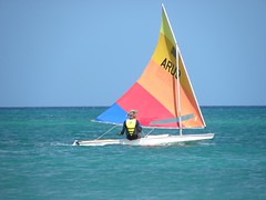 048-DSCN9370 (eric15) Tags: sea beach water race cat for boat eva surf sailing wind offshore sailors luna aruba international dash sail regatta sailor optimist sunfish oranjestad surfside