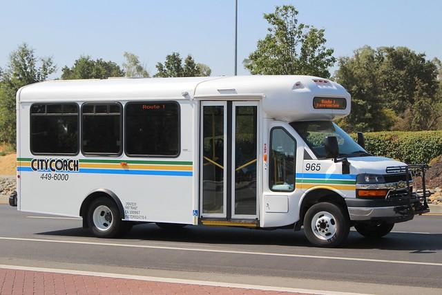 bus chevrolet metro vacaville chevy transit express minibus cutaway citycoach vacavillecitycoach