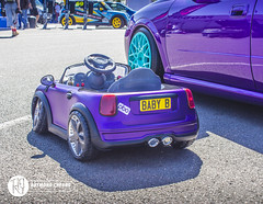 Baby Cooper (RaymondC_) Tags: show car japan japanese mini event silverstone cooper minicooper tuner coopers dub carshow toycar jdm  slammed stance trax classicmini babytoy kidstoy childrencar silverstonecircuit carevent traxsilverstone classiccooper trax2015