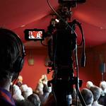 Filming Leila Aboulela & Alessandro Gallenzi