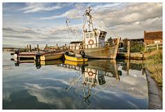 Boats at Brancaster Staithe (Digital Wanderings) Tags: boats brancaster northnorfolk brancasterstaithe norfolkcoast d5300