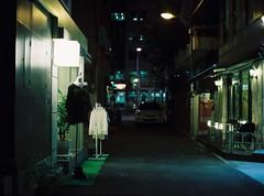 ... (june1777) Tags: snap street seoul hongdae night light bokeh mamiya 645 mamiya645 sekor 80mm f19 kodak portra 800 pro tl