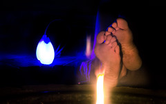 Warm by the Fire (Jozef Arthur) Tags: park blue light party color sexy feet girl fashion lady female fun happy fire foot losangeles colorful toes legs body cigarette smoke smooth smoking poi barefoot hippie boho upclose soles goodgirl lightroom