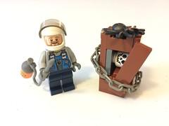 Bones TV Show - Dr. Jack Hodgins (BrickGirls.com) Tags: show tv lego science bones tvshow davidboreanaz forensic emilydeschanel