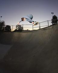 Adam D BS Air (ZackBrescia) Tags: skateboarding flash ct fisheye skatepark skate skateboard