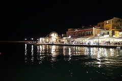 Chania Old Harbour (mysunnyescapes.com) Tags: sea lighthouse greece crete chania oldharbour chaniaoldtown egypsianlighthouse