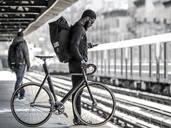 iSaw NYC commuter (father TU) Tags: nyc bike cycling moe fixie fixedgear pista kissena bikeporn affinity fathertu