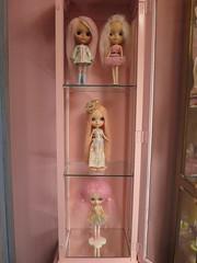 Pretty Pink Girls! (Primrose Princess) Tags: pink french ballerina doll lolita blythe takara marieantoinette customblythe mohairreroot dollydreamland