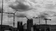 20150723-P1570620 (katharina_amari) Tags: blackandwhite berlin architektur schwarzweiss bauten teufelsberg lostplaces beelitzerheilstätten