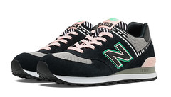 NB 574 Women New Balance 574 Palm Springs Made in USA Black Sneaker (RobertThrashy) Tags: beautiful shopping chic runner runningshoes coupon womensshoes retrostyle popshoes shoppingonline newbalance574 fashionsneakers intrend girlsrunningshoes storediscount