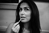 Anahita (Gary Kinsman) Tags: london bayswater w2 canoneos5dmarkii canon5dmkii canon50mmf14 bw blackwhite portrait portraiture highiso availablelight ambientlight night evening unposed candid restaurant hafez herefordroad lipbalm 2015 people person