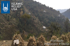 Scenes from near the earthquake affected area visited by IRUSA CEO Anwar Khan