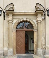 Krakov, kostel sv. Josefa (1) (ladabar) Tags: portal kraków cracow cracovia krakau krakov portál