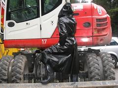 DIMG02461_FL (helani44) Tags: black rubber hunter sbr gummimantel gummistielel