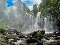 Cambodia : Phnom Kulen National Park, waterfall #1 (foto_morgana) Tags: nature water landscape outdoors waterfall asia cambodia lightroom phnomkulennationalpark topazremask photomatixpro5