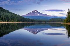 Mirror (huang.bolun) Tags: lake mounthood trilliumlake