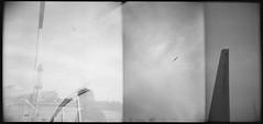 Barcellona (La T / Tiziana Nanni) Tags: bw film luca multipleexposure analogue viaggi barcellona biancoenero 2014 pellicola multiesposizione analogico holga120gn iamyou tizianananni tenereinsiemelecose