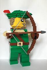 Large Forestman (Miro78) Tags: lego minifigure large brick built forestman robinhood