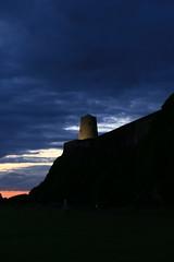 Keeping watch at dusk (mwgu50) Tags: dusk bamburghcastle bamburgh