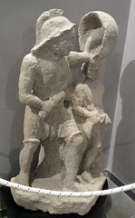 Pompei Hoplomachus Gladiator and Priapus Tavern Sign (oomegamann) Tags: gladiator gladiador gladiateur hoplomachus priapos priapus