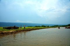 Landscape (Sajeeb75) Tags: outdoor landscape river sky blue people hill bangladesh