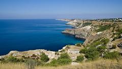 Fiolent (gvopros) Tags: fiolent sea crimea summer water mountains sevastopol city vacation landscape