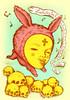 Back from the Dead (arnus horribilis) Tags: skulls rabbit cross song happiness fun jump nurseryrhyme child