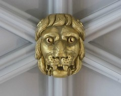 Lion Head (Aidan McRae Thomson) Tags: york minster cathedral yorkshire roofboss bosses carving ceiling lion