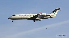 Bombardier CRJ 200 ~ S5-AAE  Adria (Aero.passion DBC-1) Tags: dbc1 david biscove aeropassion spotting aviation avion plane aircraft roissy cdg bombardier crj 200 ~ s5aae adria