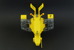 Renault Hirondelle (04) (F@bz) Tags: starfighter spaceship lego sf space moc scifi renault
