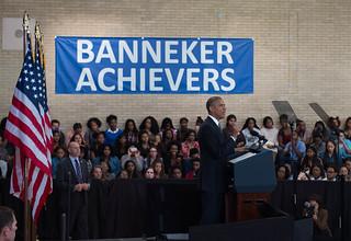 Banneker-Pres.Obama.10.17.2016.Khalid.Naji-Allah