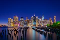 New York (Joits) Tags: newyork nyc newyorkcity thebigapple bluehour brooklyn brooklynbridgepark sigma24mmf14art travel travelphotography
