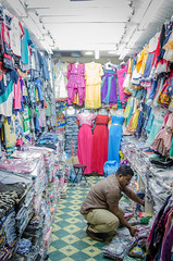 DOHA 2016-7 (earthlingrick) Tags: doha qatar arabic man work clothes market souk travel