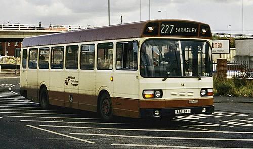 AAK114T SYPTE 14 Barnsley