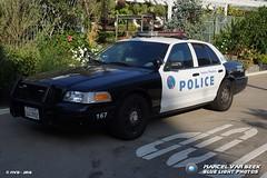 Santa Monica PD - Ford Crown VPI (167) (Falcon1366) Tags: police car america usa california santa monica smpd law enforcement