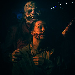 HOLLYWOOD HORROR NIGHTS (Cre8 Thru Action) Tags: horror jason michaelmeyers murder kill terror hhn hollywood california halloween a6000 sonyalpha haunted ghost