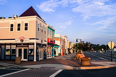 Town of Bethany Beach (laurenspies) Tags: bethanybeach morning shops delaware de usa