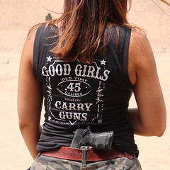 Customer Photo: Good Girls. Carry Guns. Women's T-Shirt. (Sons of Liberty Tees) Tags: countrygirls girlpower girlswhoshoot girlswithguns girlytee glockgirl gunchick gungirl livefreeordie madeinusa molonlabe nra patriot pew pewpewpew rangegirl righttobeararms shallnotbeinfringed shooting sisterpatriots sonsofliberty sonsoflibertytees womenwhoshoot