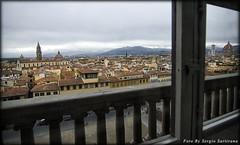 Firenze da Palazzo Pitti (celestino2011) Tags: panoramica palazzopitti firenze balconata finestra