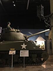 Sherman tank (st_asaph) Tags: largo armedforceshistorymuseum dday shermantank m4 sherman diorama