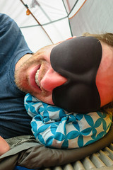 Nap Time! (GlobalGoebel) Tags: grand teton national park canon powershot g9x wyoming backcountry hiking camping sleepmask tetoncresttrail