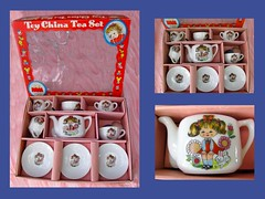 Vintage Tea Set (dog.happy.art) Tags: teaset childs childrens toy collectible collectable madeinjapan ceramic vintage
