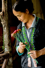 Hmong coffee shop woman (maryannenelson) Tags: thailand hmong women tradition people culture
