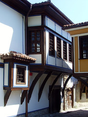 Old Plovdiv, Bulgaria - National Revival period architecture (johnnysenough) Tags: 62 oldplovdiv nationalrevivalperiodarchitecture plovdiv bulgaria bălgarija bulgarie bulgarien centraleurope пловдив 18th19thcentury balkanarchitecture historical travel vacation 100citiesx1trip snv37677