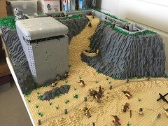D-Day Omaha Beach, Normandy (Lego Admiral) Tags: omaha ww2 wwii dday normandy us usnavy nazi german france 1944 lego