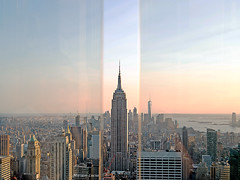 Empire State (MIRIAM LUCIA-Colgadademicamara) Tags: new york city building architecture empire state top rock rockefellercenter cityscape roftop